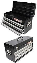 BGS 3312 Metall-Werkzeugkoffer, 3 Schubladen