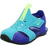 Nike Sunray Protect 2, Sandalia Unisex niños, Oracle Aqua Ghost-Hyper, 20 EU