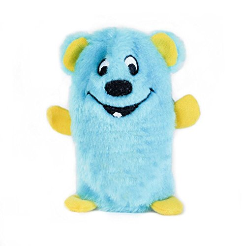 ZippyPaws - Squeakie Buddie No Stuffing Plush Dog Toy - Bear
