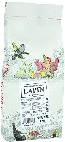 Vitakraft vitobel Bolsa Alimentos para Conejo 4kg–Lote de 2