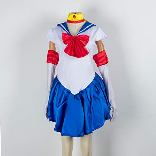 Baipin Disfraz De Sailor Moon Anime Cosplay, Azul...