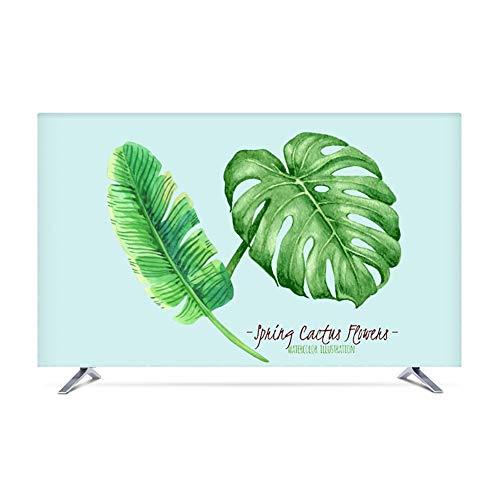 YMYP08 TV Dust Cover, Indoor TV Computer Screen Protection Cover Modern En Eenvoudig 19in-80in, Compatibel met alle tv-merken (Kleur : E, Maat : 40in)