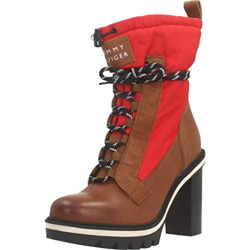 Botas para Mujer, Color Rojo, Marca TOMMY HILFIGER, Modelo Botas para Mujer TOMMY HILFIGER FW0FW04345 Rojo