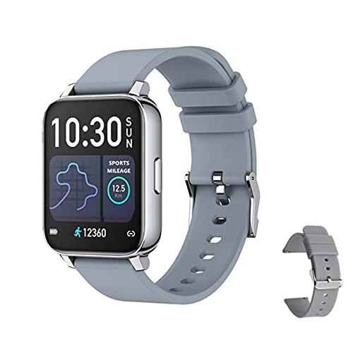 XXH Smart Watch P36 Hombre IP67 Impermeable, Monitor de frecuencia cardíaca, rastreador de Fitness, presión Arterial VS P80 B57 P68 S226 T80 para Android iOS,E