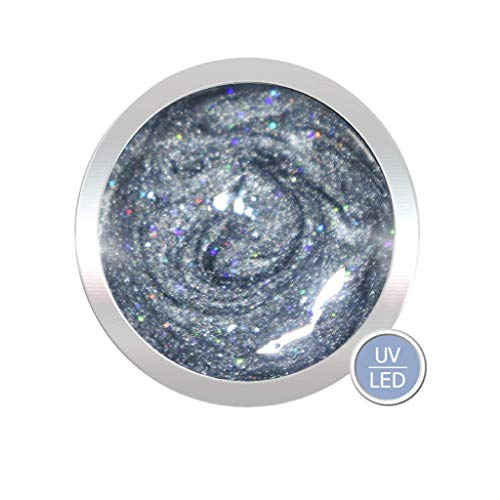 High Quality UV Glit tergel, Silver Star, 5 ml