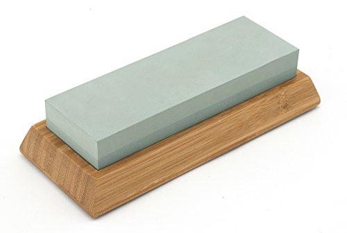 Echtwerk EW-WS-0315 slijpsteen 1000/400 twist houder van bamboe