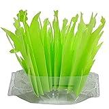 <span class='highlight'><span class='highlight'>LISRUI</span></span> Green Leaf Humidifier, Simulated Leaf Eco-Friendly Non-Woven Fabric Plastic Pot, Aquarium Landscaping Pet Supplies