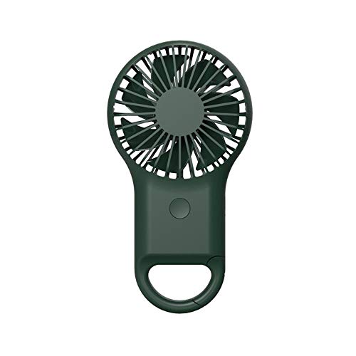 LKJHG Carabiner Ventiladores USB de carga de mano