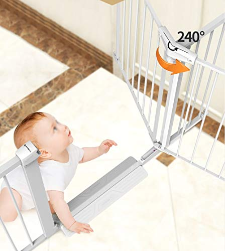 41 BNt+KjLL The 7 Best Retractable Baby Gates of 2021 [Review]