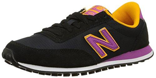 New Balance WL410 B - Zapatillas de Deporte de Lona para Mujer Negro Noir (Cpb Black) 37