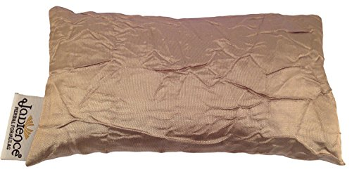 Jadience Lavender Eye Mask - Gold: Soothing Eye Pillow for Stress & Tired Eyes! | Perfect Yoga Eye Bag | Best Eye Mask for Migraines