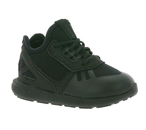 adidas Originals Tubular Runner EL I Enfants Baskets Noir S78721, Size:27
