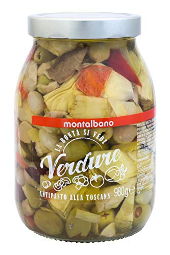MONTALBANO Antipasto alla Toscana 4 Vasi - 3.92 kg