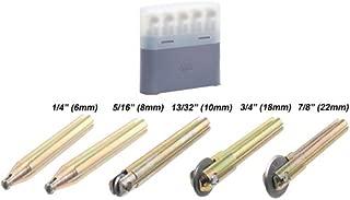 Rubi 5 pcs Wheel Kit TS/TR Tile Cutter (6mm, 8mm, 10mm, 18mm, 22mm)