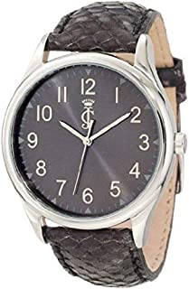 Juicy Couture Women'S 1900945 Darby Python Embossed Leather Strap Watch