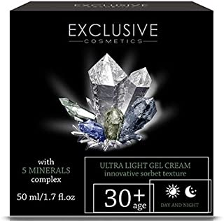 exclusive cosmetics ultra light gel cream