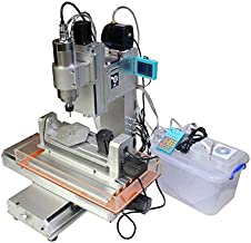 5 Axis 2200W Water Cooling Spindle 5 Axis With ER20 Chuck 3040 CNC Engraving Milling Drilling Carving Machine Router
