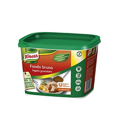 Knorr Fondo Bruno Legato Granulare Secchiello Da 500 Grammi