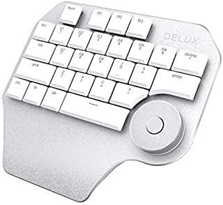 Moveski T11 Wired Designer Keyboard Type C with Smart Dial 3