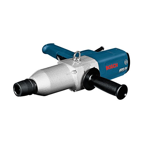 Bosch Professional Boulonneuse GDS 24 (800 W, Couple maxi. (vissage en force) 600 Nm, Pack d'accessoires, Coffret de transport)