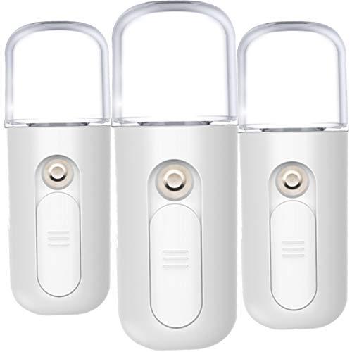 Mistik 3 Pulverizadores Faciales, Pulverizan, Desinfectan, Nano Spray Ionic Humificador Humectante Facial