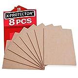 Fieltro adhesivo X-PROTECTOR – Deslizadores para muebles – 8 Premium fieltro autoadhes...