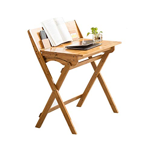 LICHUAN Escritorio de ordenador pequeño escritorio plegable sin ensamblaje PC escritorio moderno pequeño escritorio de trabajo portátil escritorio para oficina en casa