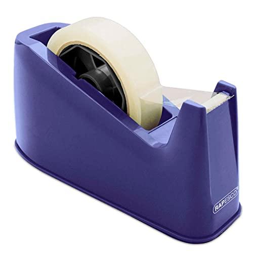 Rapesco Accesorios - Dispensador de cinta adhesiva para rollos de tama