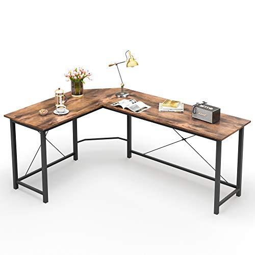 L Shaped Desk Corner Computer Desk...