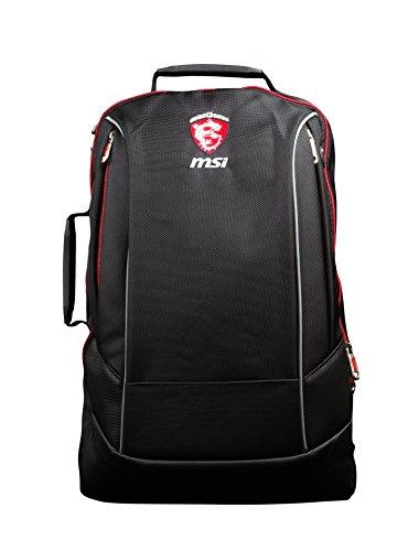 MSI Hecate Gaming-Rucksack für 38,1 cm - 43,2 cm (15-17Zoll) Notebook–Schwarz
