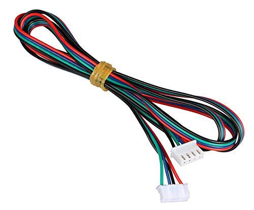 Schrittmotorkabel XH2.54, 4-polig auf 6-polig, Weiß, 6 Stück, 1,5 m