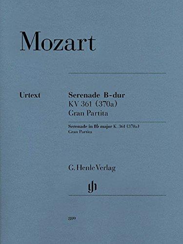 Gran Partita B-dur KV 361 (mit Stimmen für Hörner in B/Es und F)