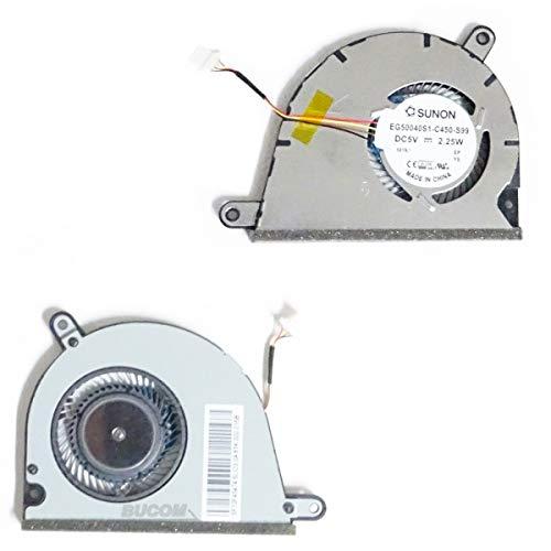 Bucom Ventilador para IBM Lenovo IdeaPad Yoga 213Fan 4Pin Enfriador eg50040s1de C450de S99Ventilador Cooler