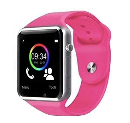 Bluetooth Smartwatch RONEBERG, Reloj Inteligente con Llamada y Texto con Pantalla táctil y sincronización de notificaciones Compatible para Android iOS Disponible en 5 Calles RA1
