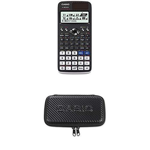 Casio FX-991DE X wissenschaftlicher ClassWiz Taschenrechner mit natürlichem Display mit Casio Schutztasche