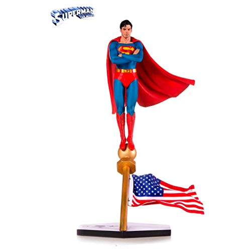 CQ DC Super Heroes Statue: Superman 1:10 BDS Art Scale Collectible Figurine from Movie Series Toys image