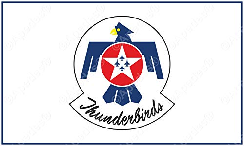Apedes Thunderbirds USA Air Force United Computer Tablet Aufkleber Aufkleber 7,6x 12,7cm