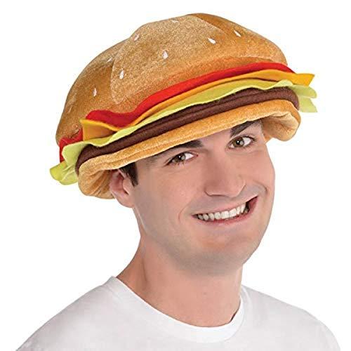 amscan Cheeseburger Hat - Headwear Large