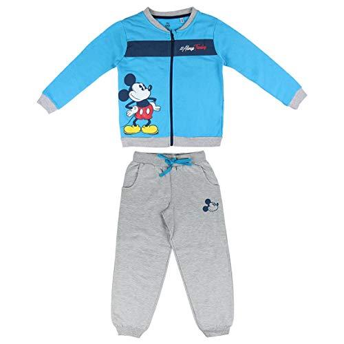 Artesania Cerda Chandal Mickey Survêtement, Bleu (Azul C37), Unique (Taille Fabricant: 6 Ans) Bébé garçon