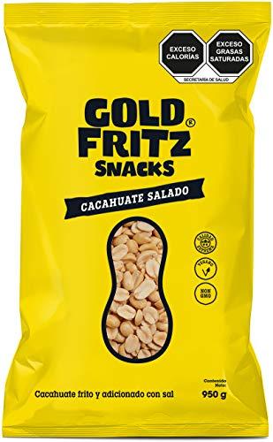 Gold Fritz Cacahuate Salado - 950 g