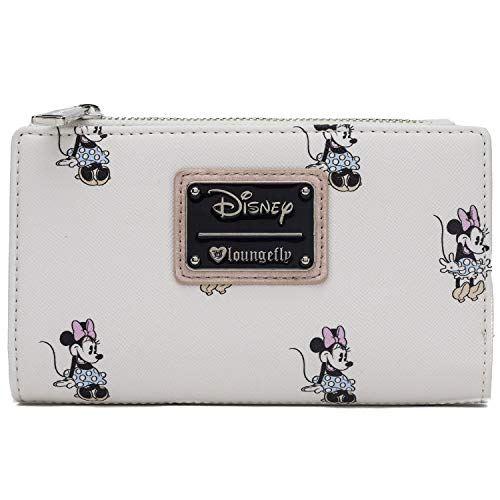 Loungefly Disney Minnie Mouse All Over Print Wallet (one size, Multicolor)
