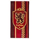 Cerdá Toalla de Playa de Harry Potter para Niños con Licencia Oficial Warner Bros, Algodón, Multicolor, Regular