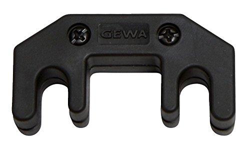 GEWA 411905 Tonwolf Sordina per Violino e Viola Metallo con Rivestimento in Plastica