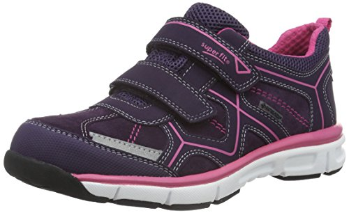 Superfit Mädchen LUMIS 700411 Low-Top, Violett (TULIP 53), 28 EU