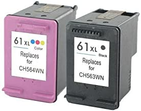 2 X Generic Remanufactured Ink Cartridge Replacement for HP CH563WN ( Black,Tri Color , 2-Pack )
