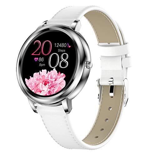 Smart Watches für Damen X8, Fitness Tracker IP67 wasserdichte Fitnessuhr, Outdoor Smart Armband mit Herzfrequenz- und Blutdruckmessgerät, Ladies Sports Watch für Android und IOS