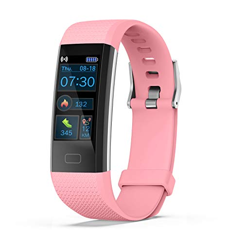 joyliveCY Kids Fitness Tracker, Activity Watch with Heart Rate Monitor Sleep Mode Pedometer Calorie Alarm Clock Stopwatch, IP68 Waterproof Swim GPS Sports Mode Call SMS SNS for Boys Girls Gifts