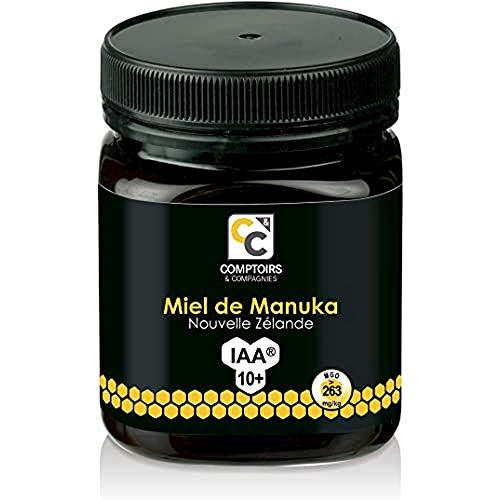 COMPTOIRS ET COMPAGNIES   MIEL DE MANUKA ACTIF   IAA10+ (MGO263+)   250 Grammes