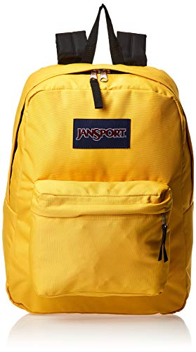 JanSport Superbreak Backpack, Yellow Spectra