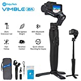 FeiyuTech Vimble 2A Handheld Gimbal Stabilizer for Gopro Hero 7/6/5,18cm Extendable Pole, New Portrait Mode, Long Battery Life, with Tripod and Carry Bag